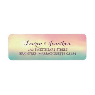 Sunset Romance | Return Address Custom Return Address Labels