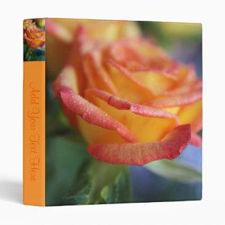 Sunset Rose 2 Binder