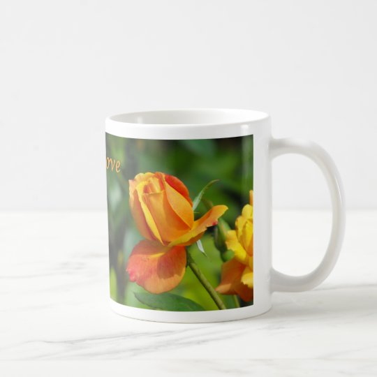 Sunset Rose - Love Coffee Mug