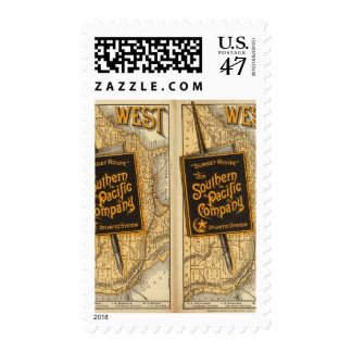 Sunset Route Postage