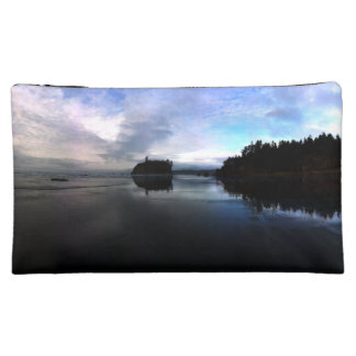Sunset Ruby Beach in Olympic Cosmetic Bag