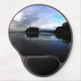Sunset Ruby Beach in Olympic Gel Mouse Pad