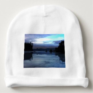 Sunset Ruby Beach in Olympic National Park Baby Beanie