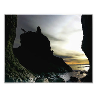 Sunset Ruby Beach in Olympic Photo Print