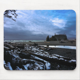 Sunset Ruby Beach Olympic National Park Mouse Pad
