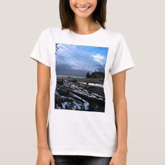 Sunset Ruby Beach Olympic National Park T-Shirt