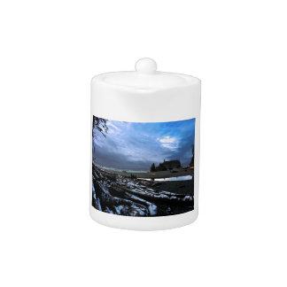 Sunset Ruby Beach Olympic National Park Teapot