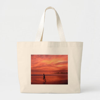 Sunset Runner Tote Bag