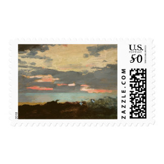 Sunset, Saco Bay Postage