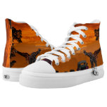 Sunset Safari High-Top Sneakers