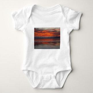 Sunset Sail Baby Bodysuit