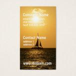 Sunset Sail Business Card