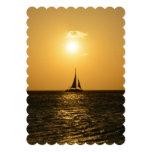 Sunset Sail Card