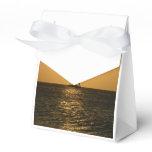 Sunset Sail Favor Box