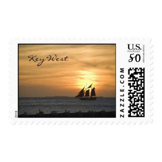 Sunset Sail stamp