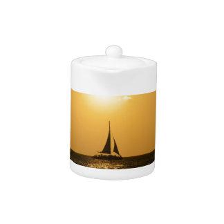 Sunset Sail Teapot