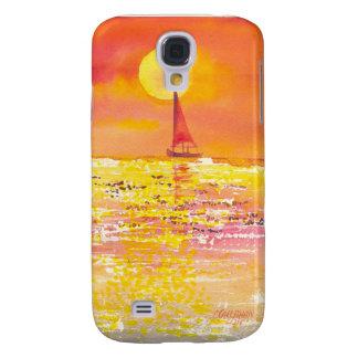 Sunset sailboat I Samsung Galaxy S4 Cover