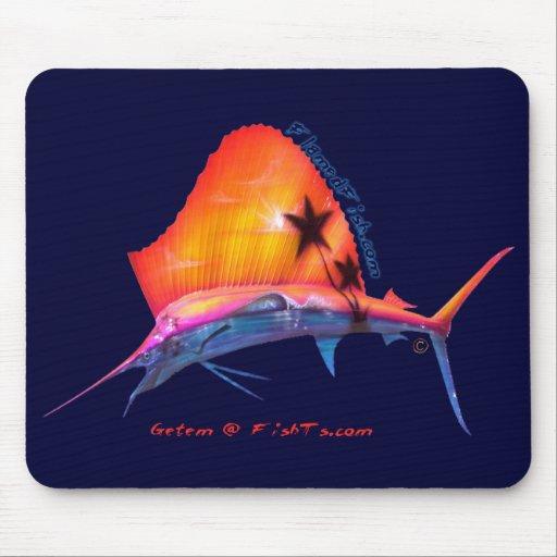 Sunset Sailfish Mousepad