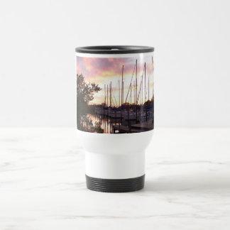 Sunset Sailing Club 15 Oz Stainless Steel Travel Mug