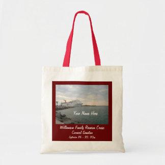 Sunset Sailing Custom Cruise Swag Budget Tote Bag