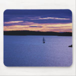 Sunset sailing in the San Juan Islands Mouse Pad