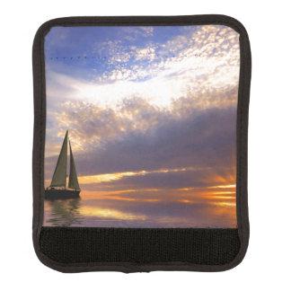 Sunset Sailing Luggage Handle Wrap