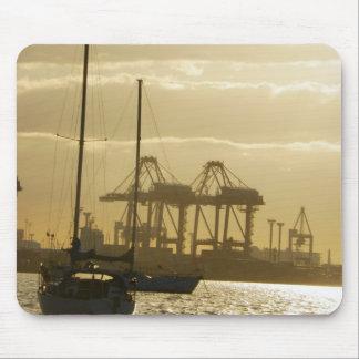 Sunset Sailing Mouse Pad