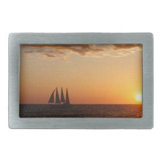 Sunset Sails Belt Buckle