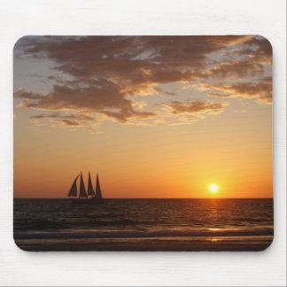 Sunset Sails Mouse Pad