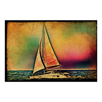 Sunset Sails (The farewell) Poster