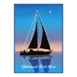 Sunset Sails with Holiday Lights Announcements