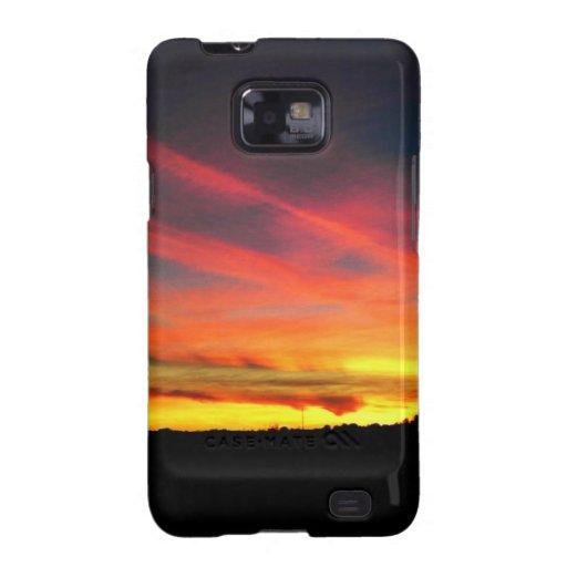 Sunset Samsung Galaxy S2 Cases