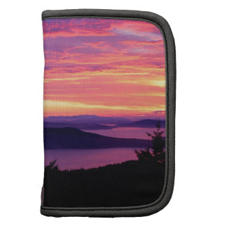 Sunset San Juan Islands At Puget Sound Folio Planners