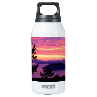 Sunset San Juan Islands At Puget Sound SIGG Thermo 0.3L Insulated Bottle