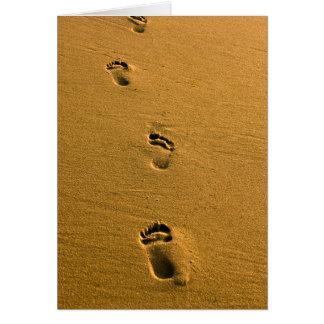 Sunset Sand Card
