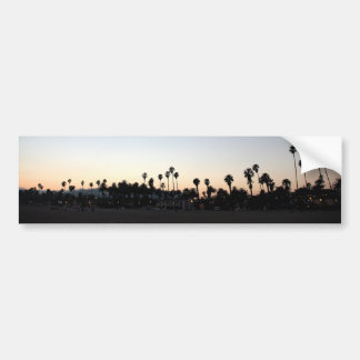 Sunset Santa Barbara Beach Bumper Sticker