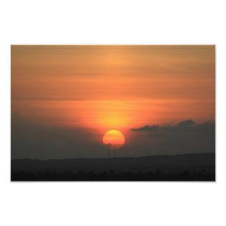 Sunset Santiago Dominican Republic Photo Print