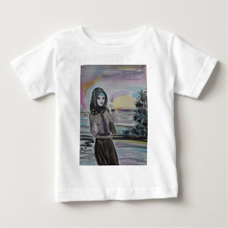Sunset scarved woman, girl hjiab, muslim baby T-Shirt