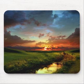 Sunset Scene Mouse Pad