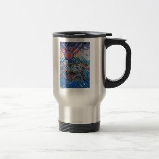 Sunset Sea II large mug