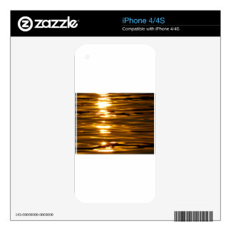 Sunset Sea Nature Abendstimmung Water Romantic Skins For iPhone 4