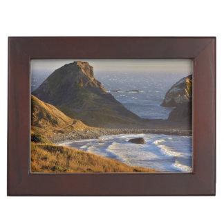 Sunset, Sea Stacks, Sisters, Oregon Coast Memory Box
