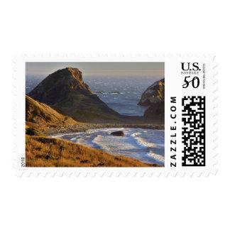 Sunset, Sea Stacks, Sisters, Oregon Coast Postage