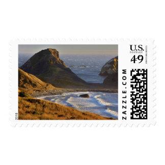 Sunset, Sea Stacks, Sisters, Oregon Coast Postage Stamps