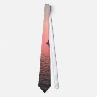 Sunset sea sunset sea tie
