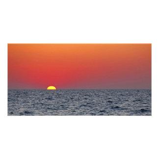 Sunset Seascape Card