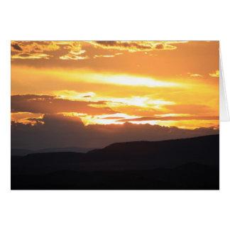 Sunset Sedona Arizona Cards