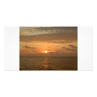 Sunset Serenade Photo Card