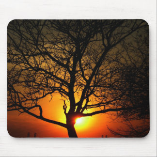 sunset serentity mouse pad