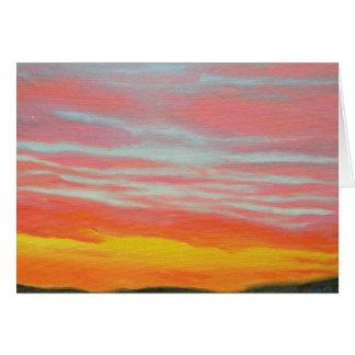 Sunset Series - Winter 08-09 #10 Card